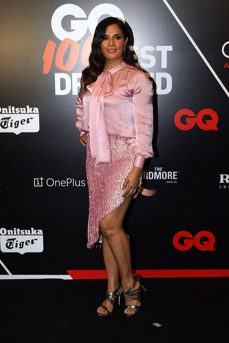 Richa Chadda at Red Carpet Ceremony of GQ Best Dressed 2018
