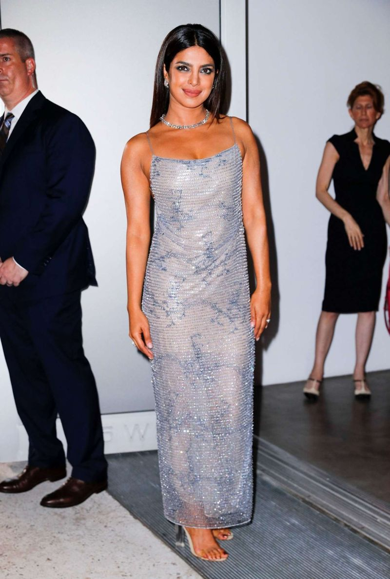 Priyanka Chopra - Leaving Tiffany & Co. Blue Book Gala in NY