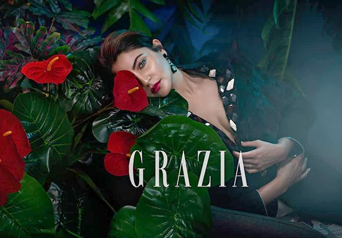 Anushka Sharma - Grazia Magazine October 2018
