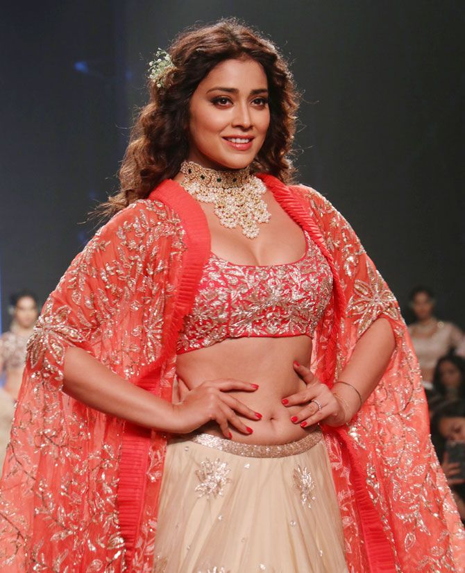 Shriya Saran - Ashwini Reddy Bridal Collection