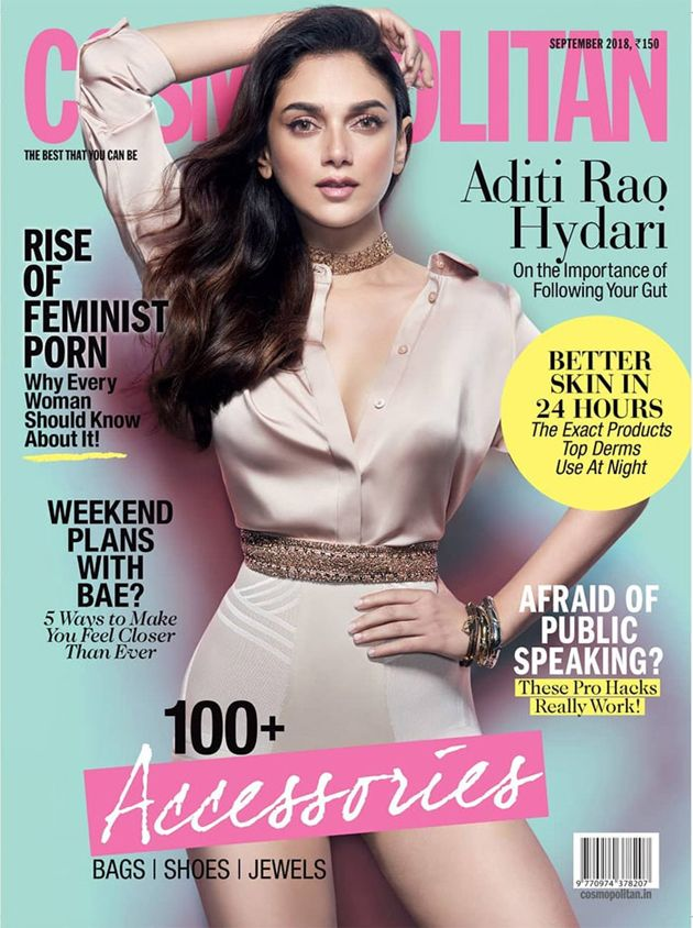 Beautiful Aditi Rao On Cosmopolitan