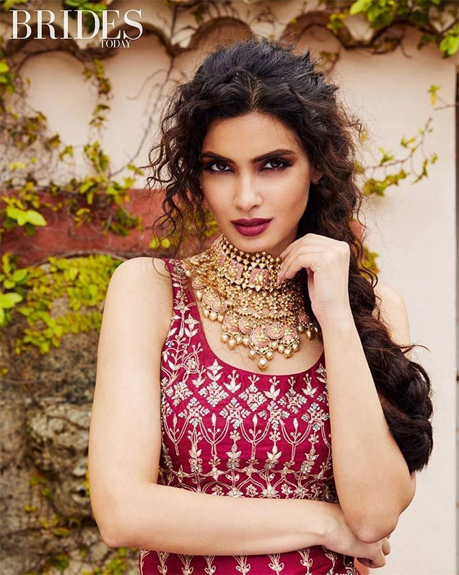 Diana Penty and Huma Qureshi - Brides Today's June-July 2019