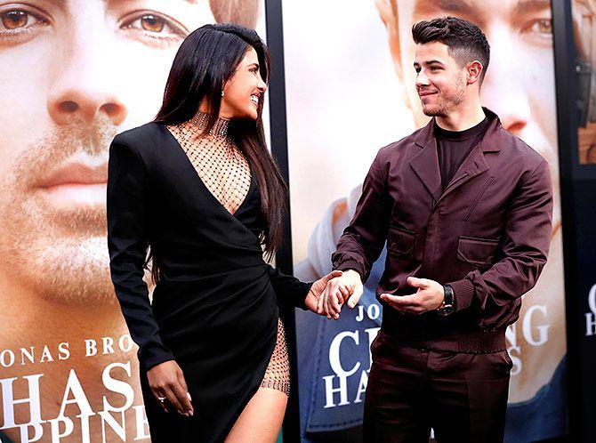 Priyanka Chopra attended the premiere of Chasing Happiness
