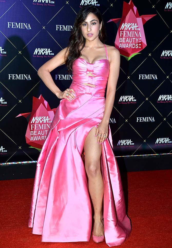 Red carpet looks from Nykaa Femina Beauty Awards 2019