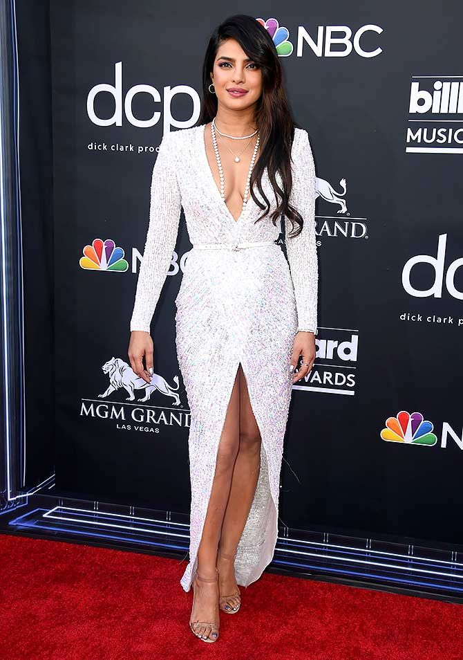 Priyanka at Billboard awards in Zuhair Murad Dress