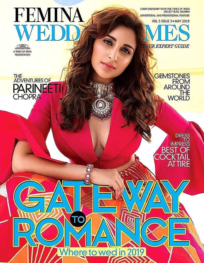 Parineeti Chopra - Femina Wedding Times May 2019