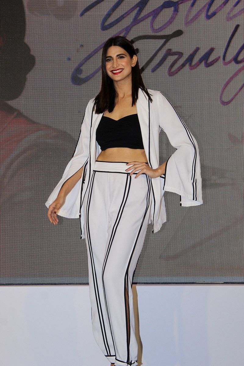 Aahana Kumra at Press Conference of 'Yours Truly'