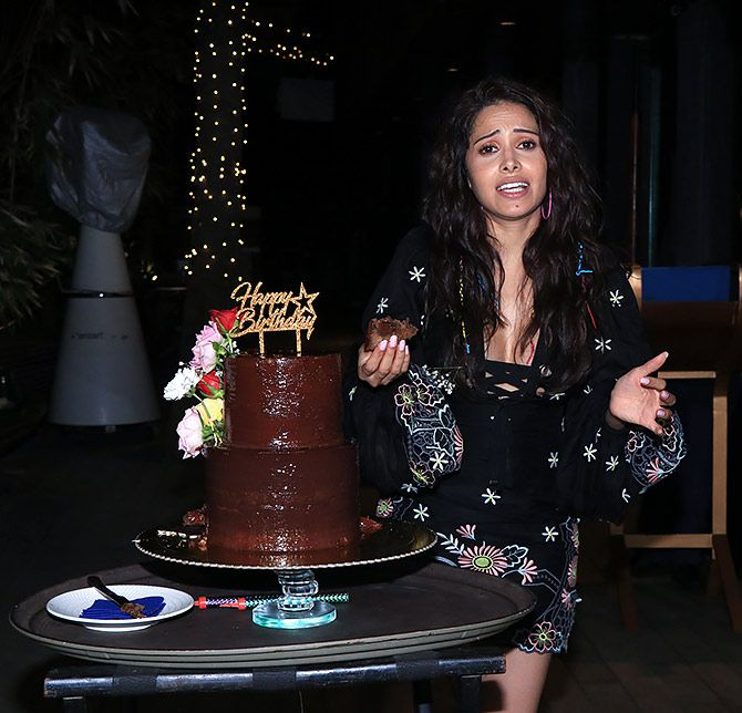 Nushrat Bharucha Birthday Party Celebration