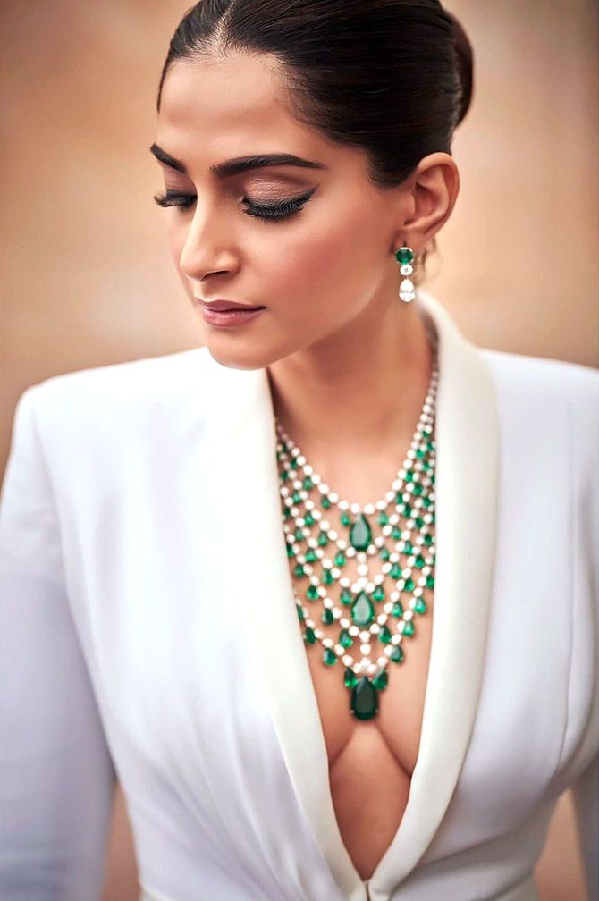 Sonam Kapoor attended Once Upon A Time In Hollywood