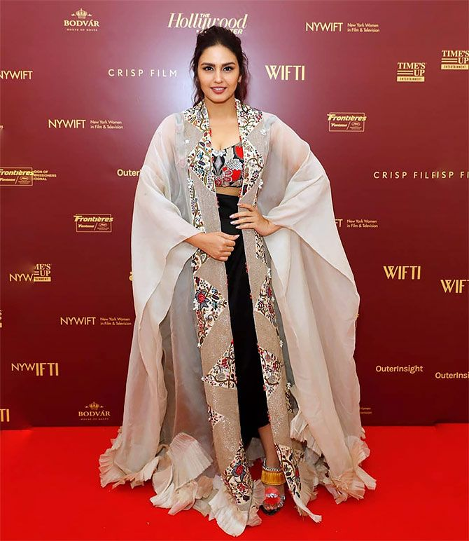 Huma Qureshi at WOMEN IN FILM and TELEVISION's event