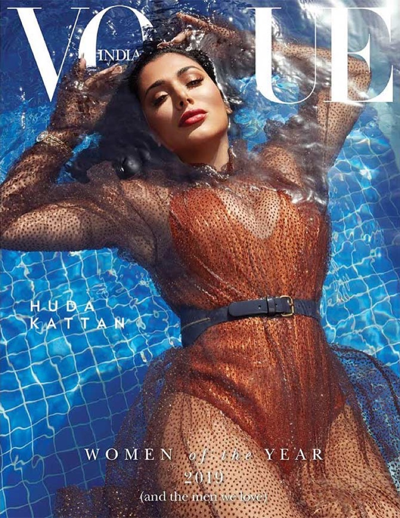 Huda Kattan - Vogue's Woman of the Year 2019