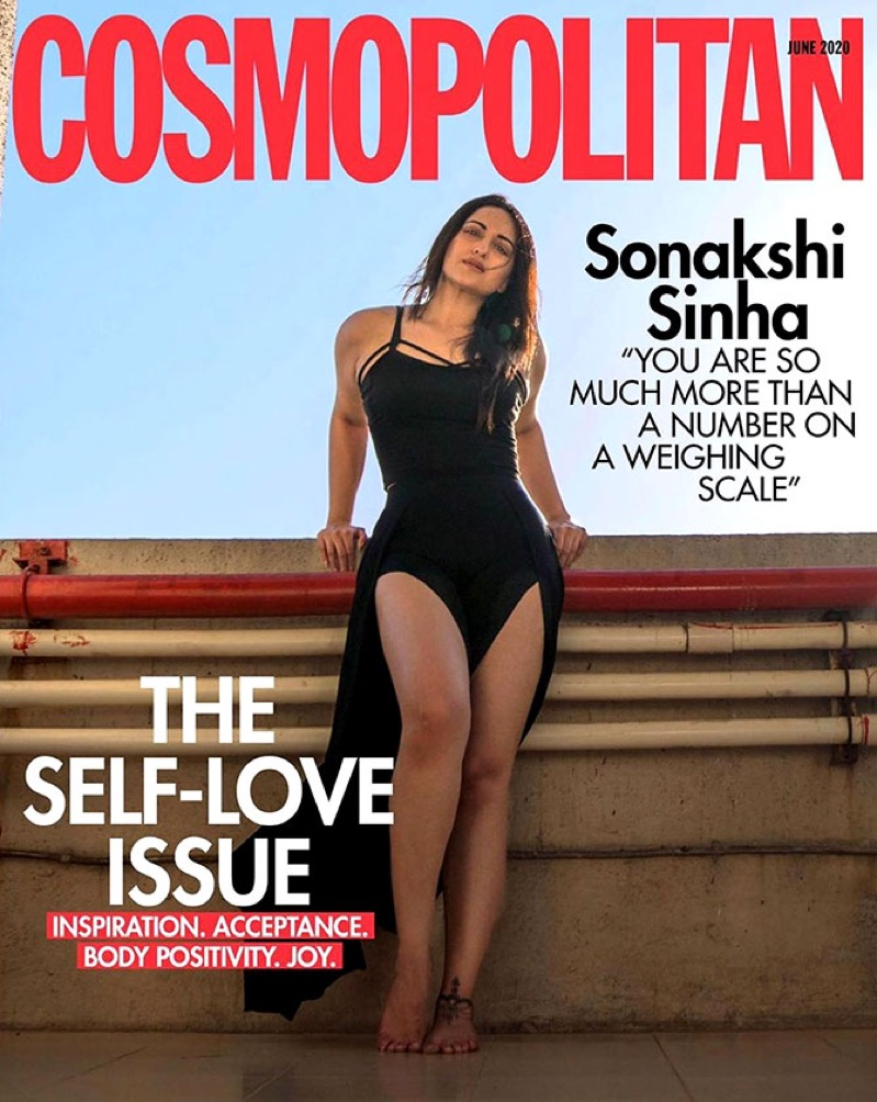 Sonakshi Sinha is on the cover of Cosmopolitan India