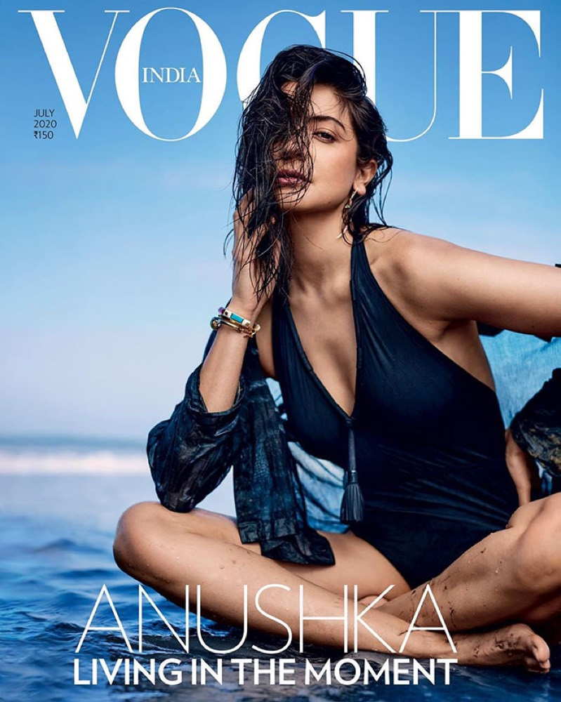 Anushka Sharma on Vogue India's July 2020