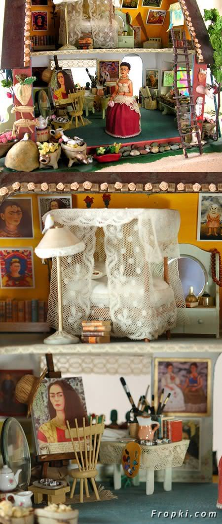 10 Amazing Doll Houses