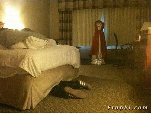 Jokes on the Maids at the Hotel