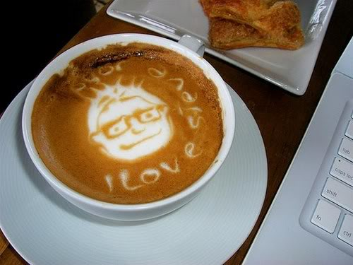 Art Gallery in a Cup of Coffee