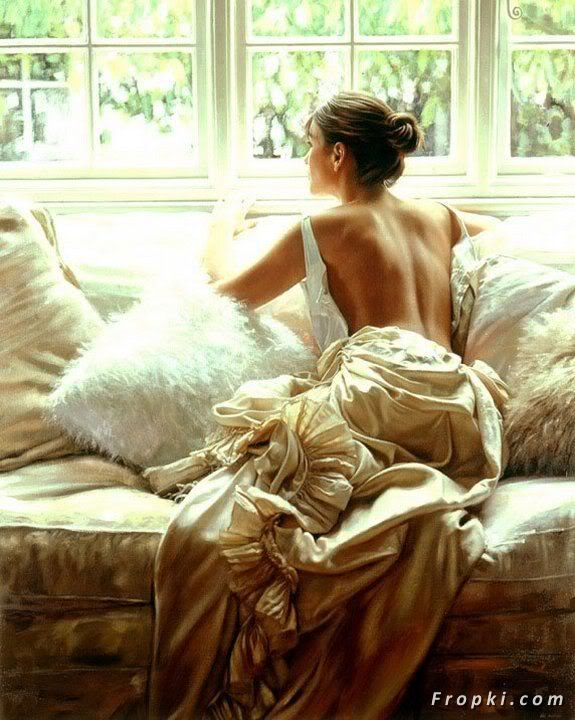 Essence of Women in Paintings of Rob Hefferan