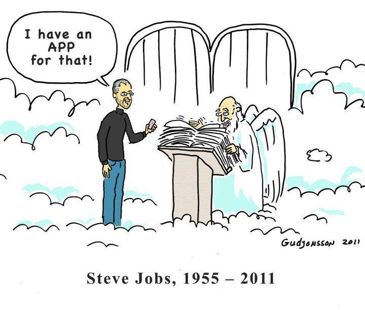In remembrance of the legend. Steve