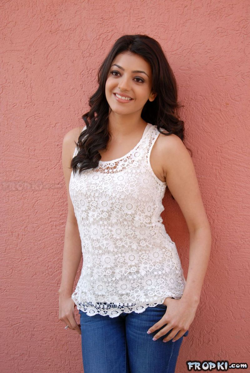 kajal agarwal spicy pics in jeans - page 14