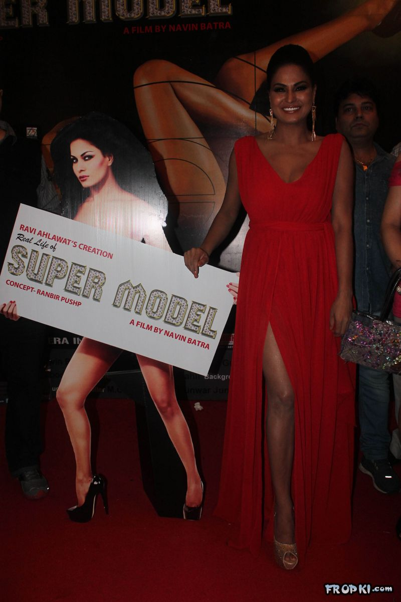 Veena Malik at Supermodel Movie First Look