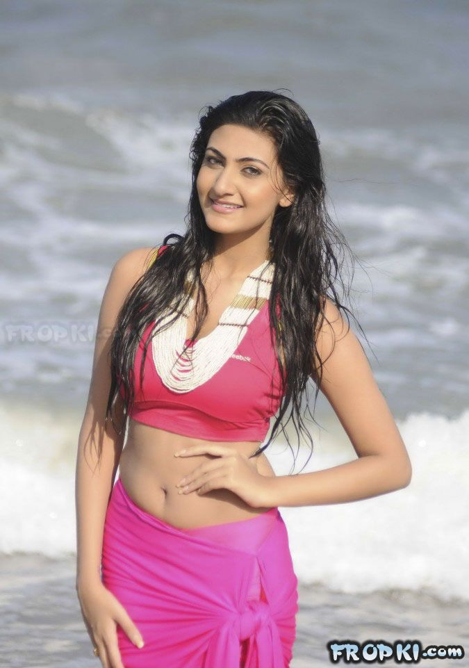 Neelam Upadhyay Sizzles in Pink Dress
