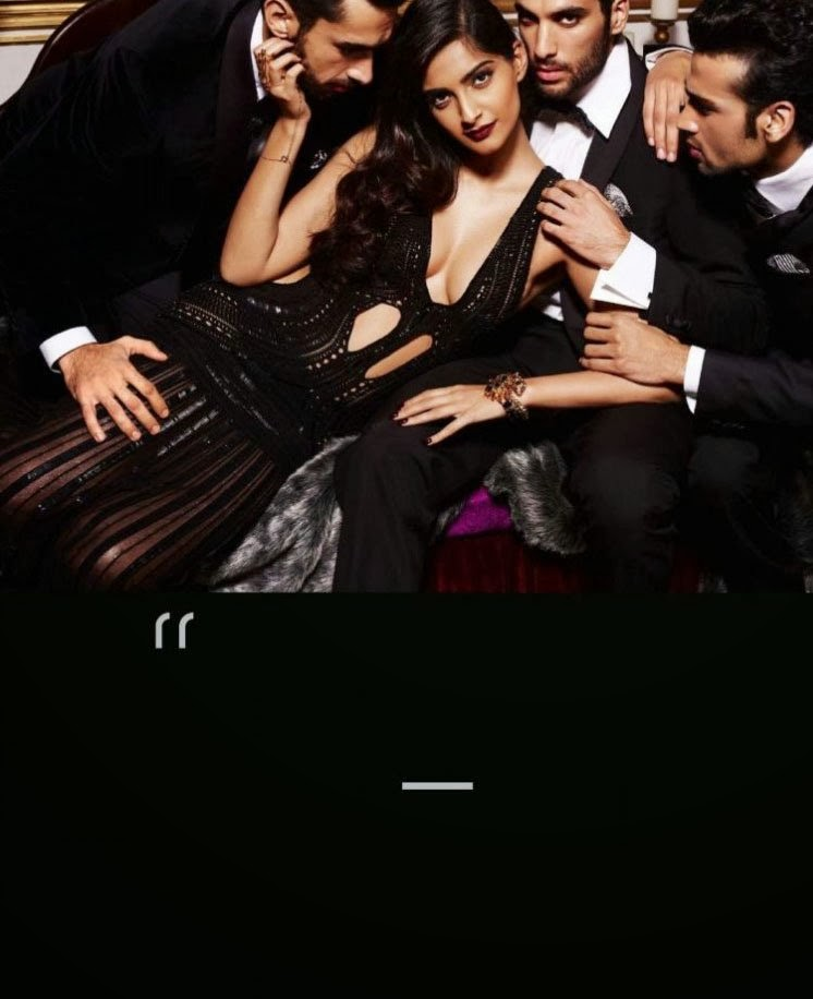 Sonam Kapoor GQ Men of the Year 2013 Magazine Stills