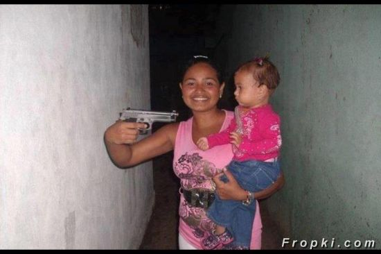 The Mother Of The Year Award Goes To...