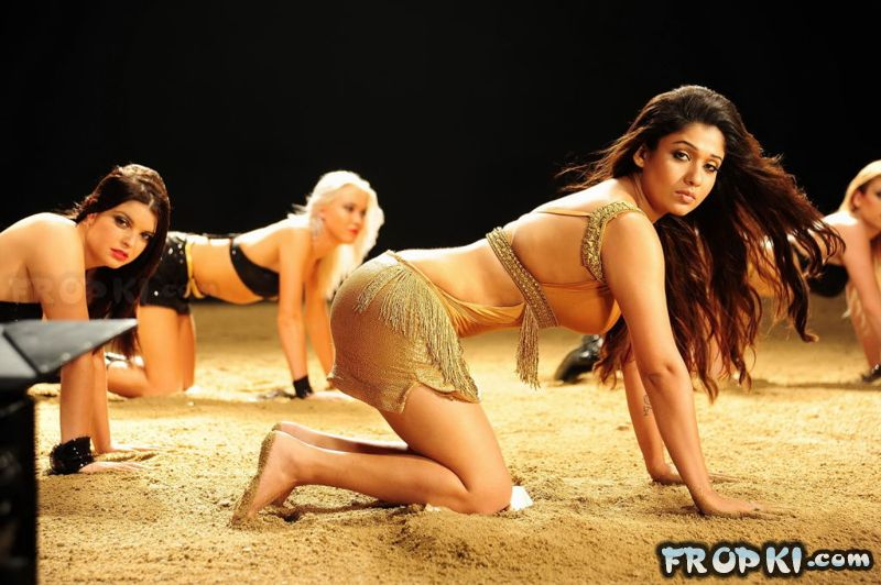 Nayantara Hot New Item Song Snaps