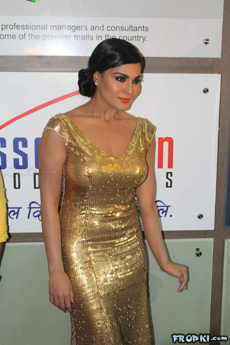 Veena Malik at Supermodel Movie Premiere
