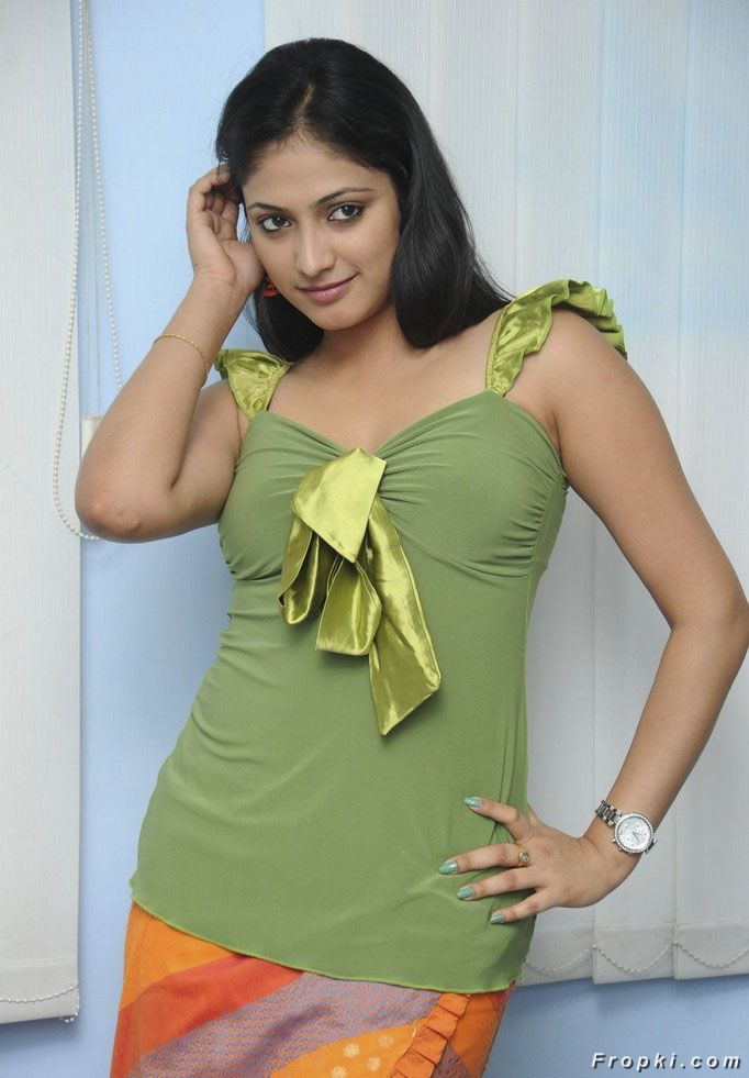 Haripriya Sizzles in Green Dress