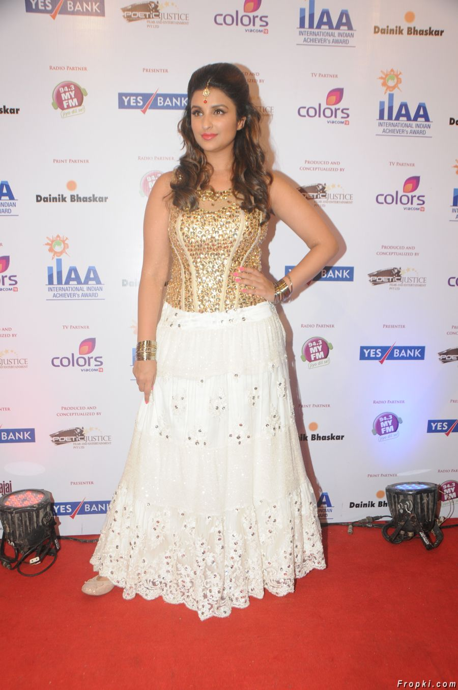 Parineeti at International Indian Achiever's Award