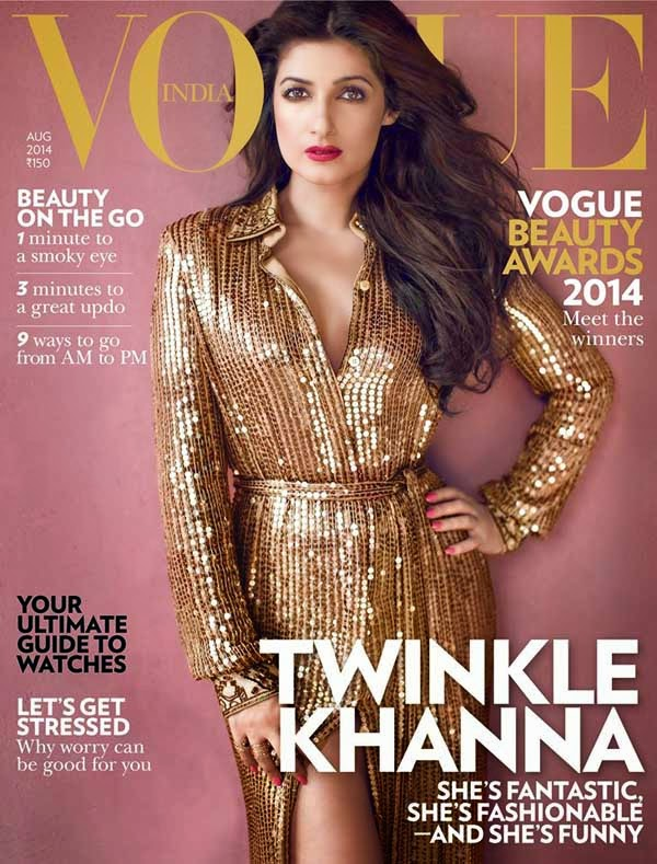Twinkle Khanna on Vogue India Magazine