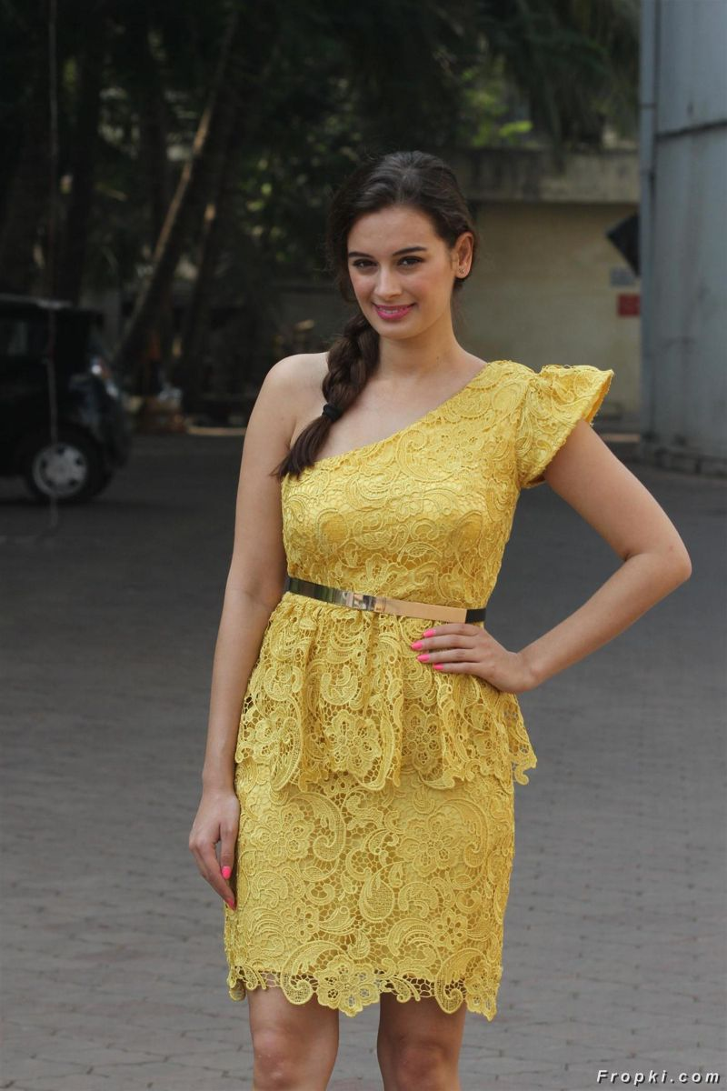 Evelyn Sharma at Cricket Challenge 2014