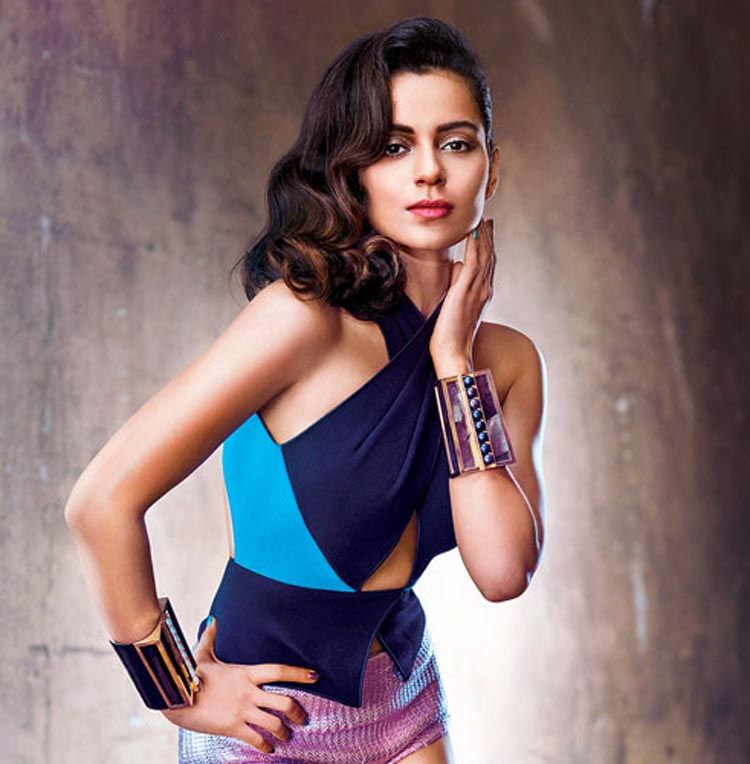 Kangana Ranaut Latest Photoshoot for Vogue
