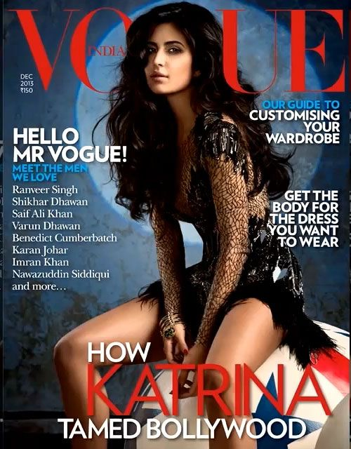 Katrina Kaif Photoshoot Stills For Vogue India Magazine