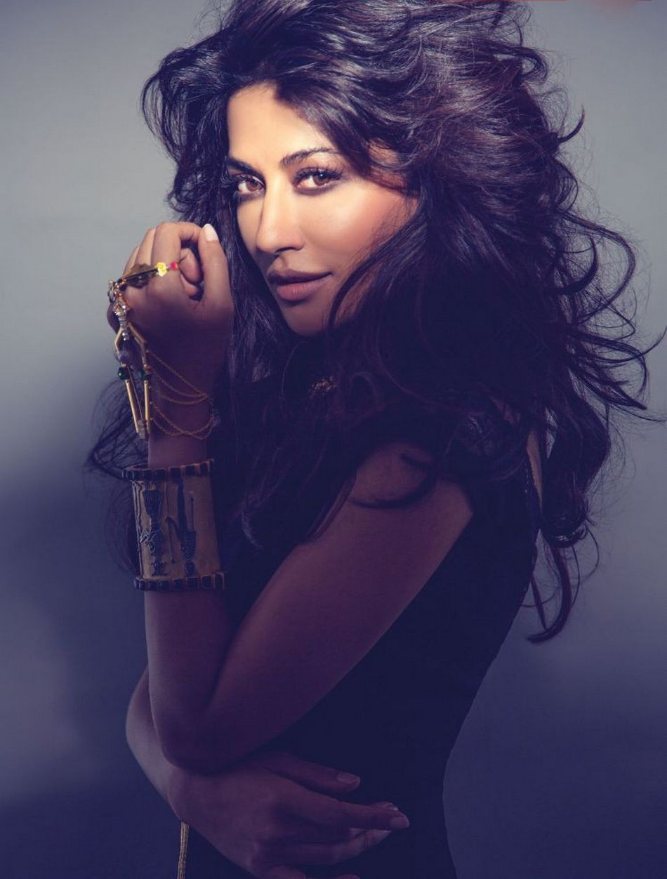 Chitrangada Singh Exhibit India Magazine July 2014