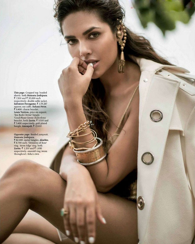 Esha Gupta Grazia Magazine July 2014