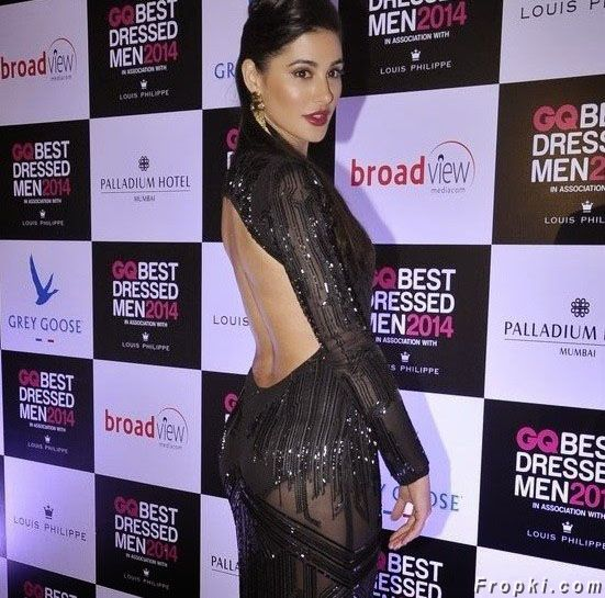 Nargis Fakhri in GQ Best Dressed 2014 Event