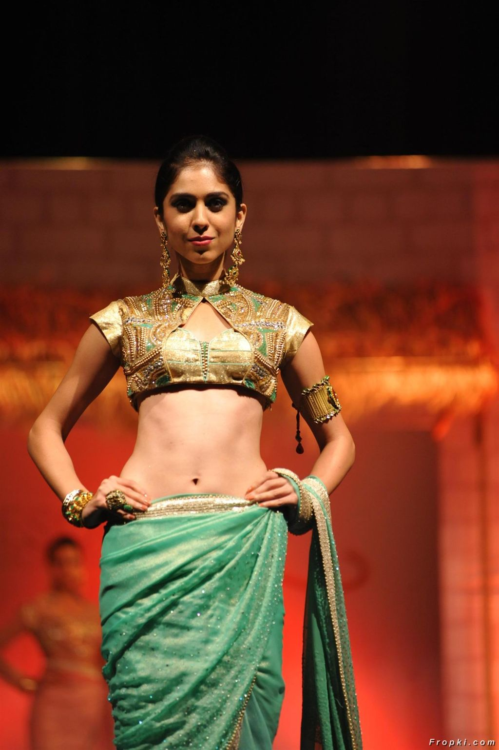 Models Ramp Walk At Silhouettes 2014 Fashion Show