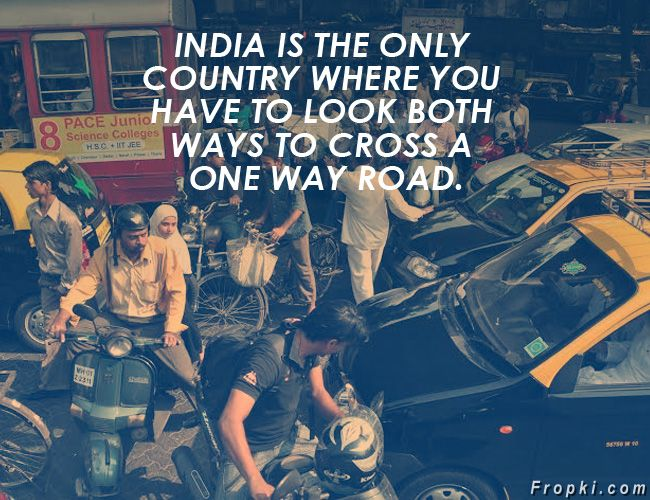 One Liners About India
