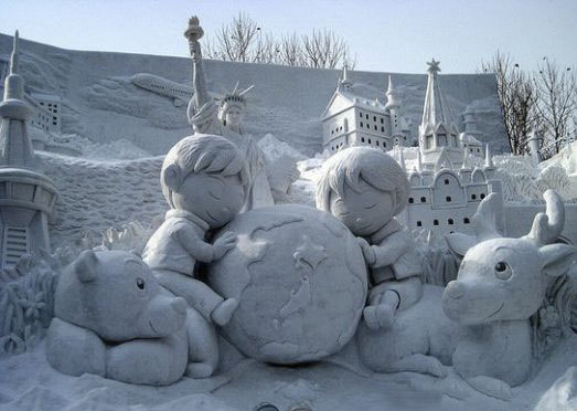 Mind Blowing Snow Art Sculptures