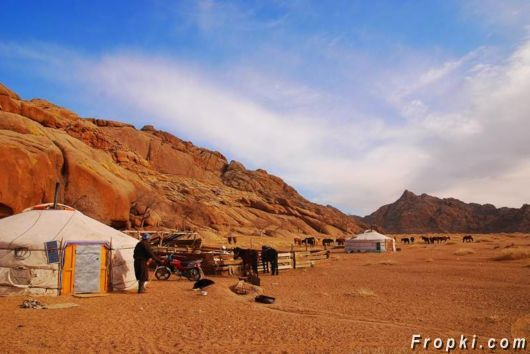 Traditional Portable Camps