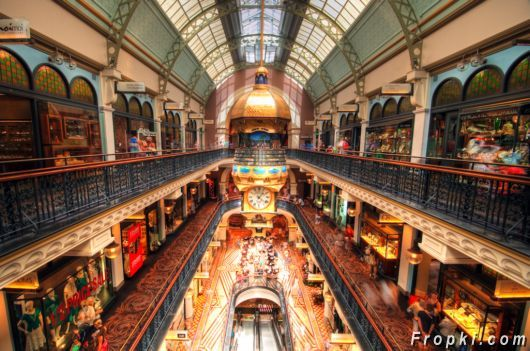 Beautiful Queen Victoria Building, Sydney