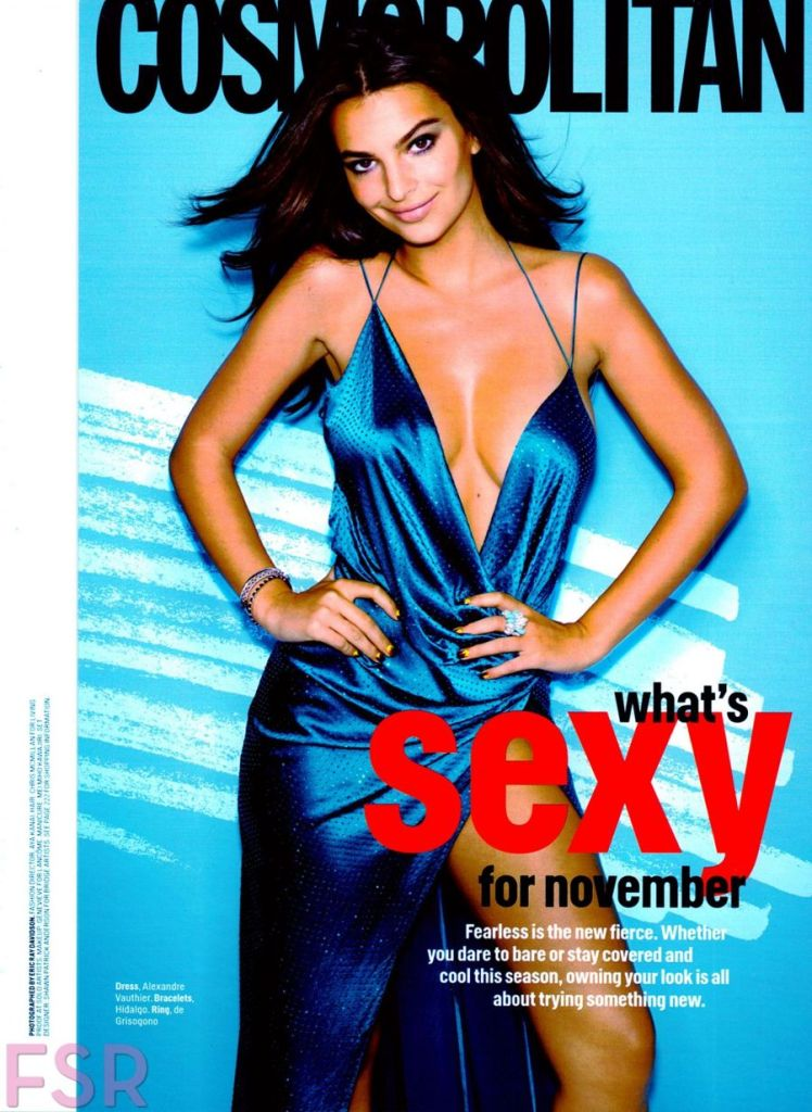 Noted Feminist Emily Ratajkowski Lands Cosmo Cover