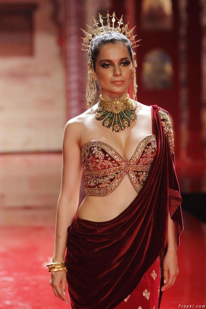 Kangana Ranaut at BMW India Bridal Fashion