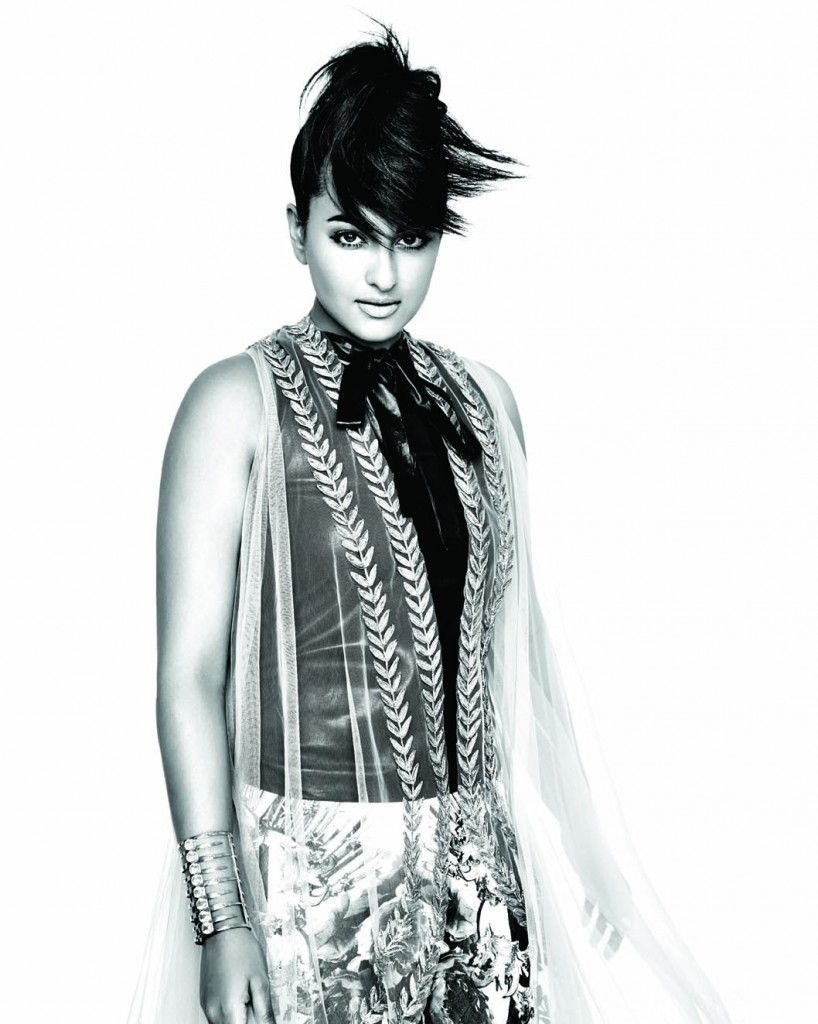 Sonakshi Sinha L'Officiel Magazine Sep'14 Shoot
