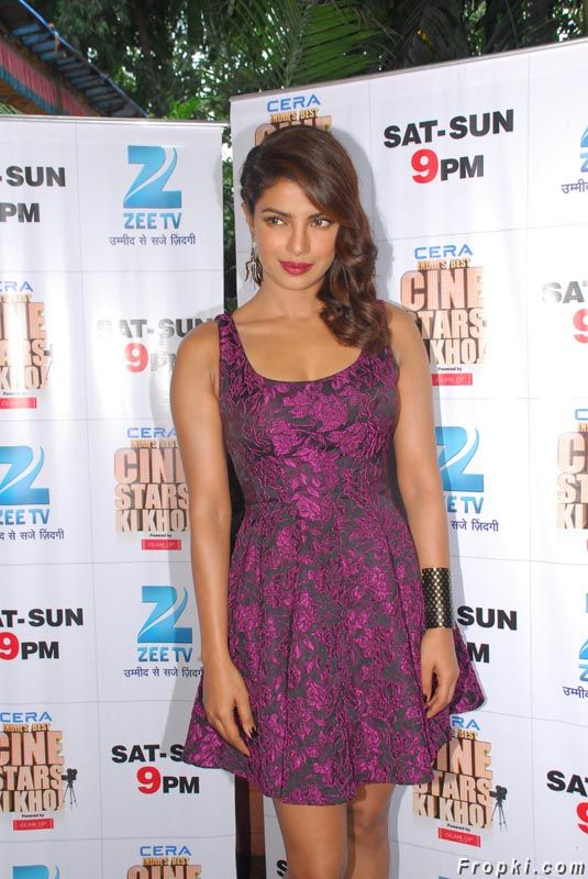 Priyanka Chopra at India's Best Cine Stars Ki Khoj
