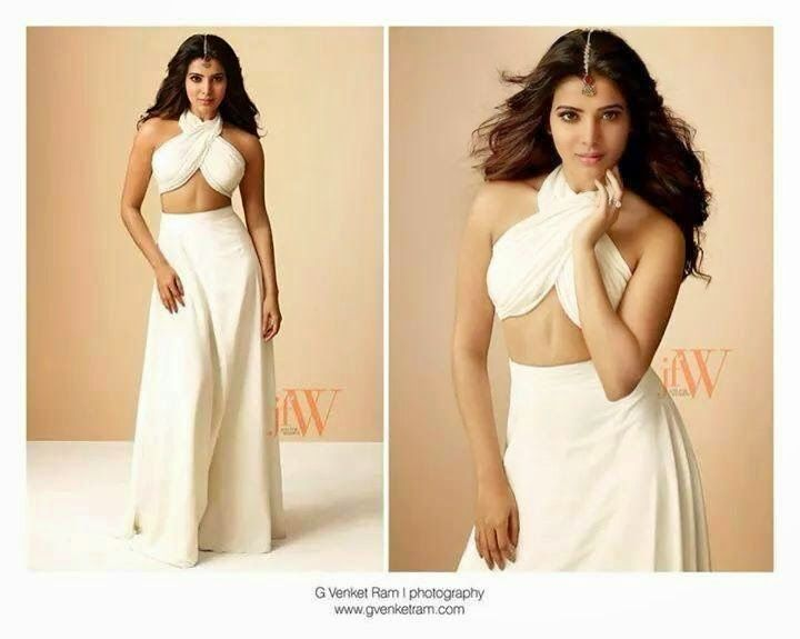 Samantha Photoshoot for JFW Magazine