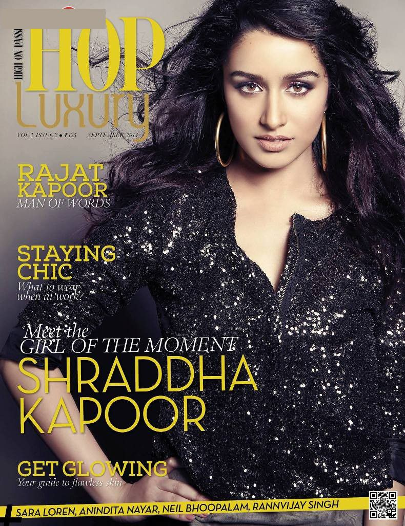 Shraddha Photoshoot for High On Passion Magazine