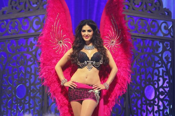 Sunny Leone In Her Victoria's Secret Look